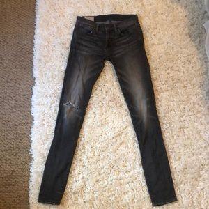 ❤️Ralph Lauren Polo Dark Gray Jeans (Size 27)